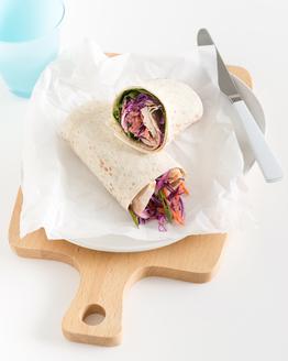Chicken & Coleslaw Wrap