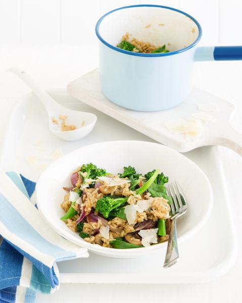 Mushroom & Vegetable Pilaf