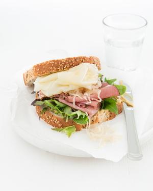 Reuben-Style Sandwich