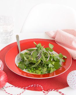 Watercress & Pea Salad
