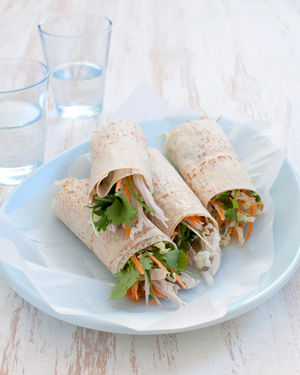 Vietnamese Chicken Wraps