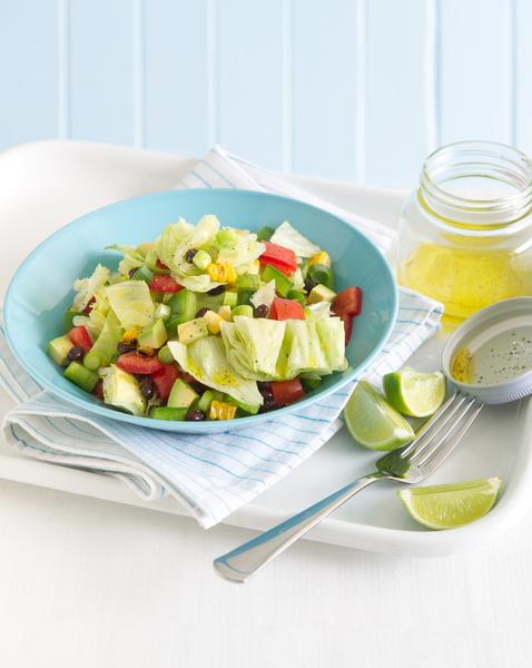 Black Bean, Avocado & Corn Salad
