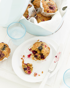 Berry & Oat Muffins