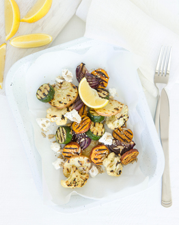 Chargrilled Vegetables with Crunchy Seeds