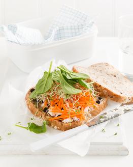 Almond & Ricotta Salad Sandwich