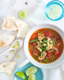 Mexican Turkey & Black Bean Soup