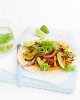 Sweet Vegetable Fajitas