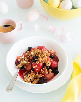 Apple & Berry Crisp