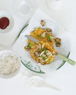 Korean Vegetable Pancake