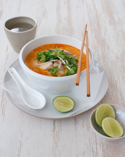 Chicken & Broccolini Laksa