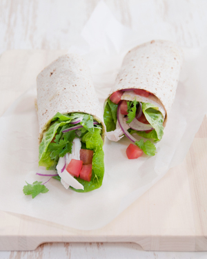 Chicken & Guacamole Wrap