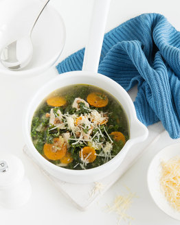 Chicken, Lentil & Kale Soup