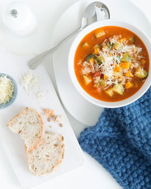 Vegetable & Barley Soup