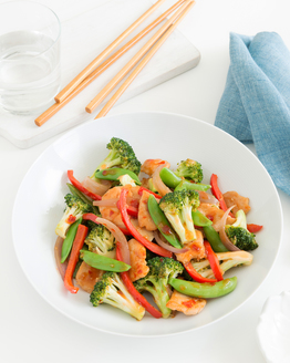 Spicy Chicken & Broccoli Stir-Fry