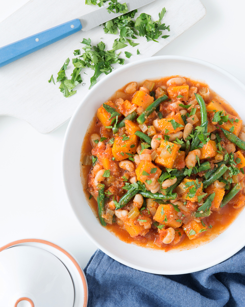 White Bean, Harissa & Vegetable Stew